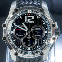 Chopard Superfast tweedehands 45mm Zwart Chronograaf Datum Tachymeter Rubber