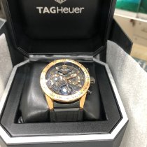 TAG Heuer Or rose Remontage automatique 45mm occasion Carrera Heuer-02T