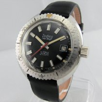 Zodiac Steel 39.5mm Automatic Sea Wolf pre-owned