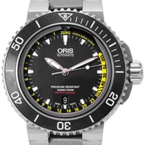 Oris Aquis Depth Gauge Steel 46mm