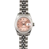 Rolex 179174 Steel 2009 Lady-Datejust 26mm pre-owned United States of America, New York, New York