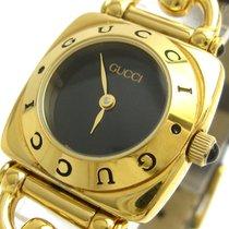 Gucci Женские часы Horsebit 21.5mm Кварцевые подержанные Часы с оригинальными документами и коробкой 1990