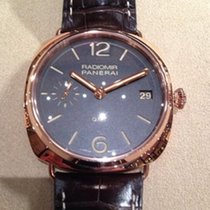 Panerai Radiomir 3 Days GMT Red gold 47mm Brown