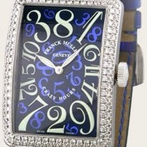 Franck Muller Crazy Hours White gold 32mm Blue Arabic numerals United States of America, New York, Greenvale