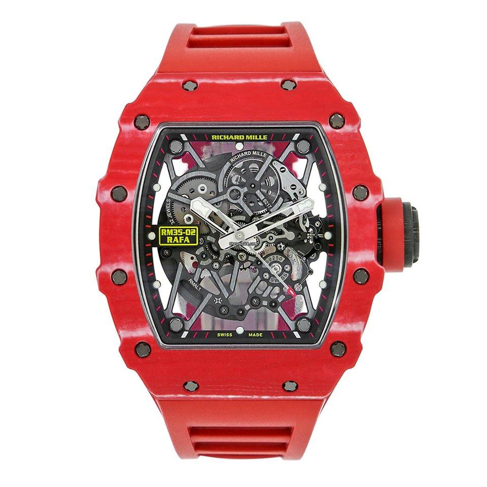 Richard Mille Rafael Nadal Signature Red Quartz-TPT Watch ...
