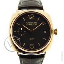 Panerai PAM421 Radiomir 3 Days  GMT 47mm Oro Rosso Full set