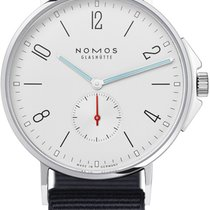 NOMOS Steel 40.3mm Automatic 550 Sapphire Crystal Back new United States of America, New York, Airmont