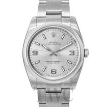 롤렉스 (Rolex) Perpetual 34 Silver/Steel 34mm - 114200
