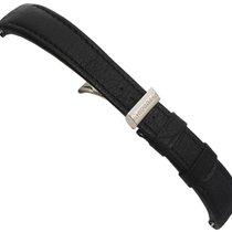 Τούντορ (Tudor) 21mm Black Leather strap including Deploynat...