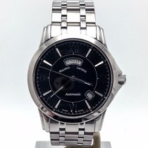 Maurice Lacroix Stainless Steel Pontos Day Date Automatic On...