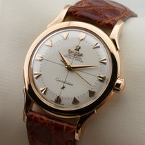 Omega Constellation Pie Pan 18K Rose Pink Gold Automatic