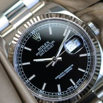 Rolex Datejust 36 black dial full set