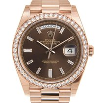勞力士 (Rolex) Day-date 18k Rose Gold Brown Automatic 228345RBR-BR