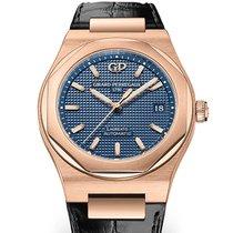 Girard Perregaux Laureato 81005-52-432-BB6 Girard Perregaux LAUREATO Oro Rosa Blu 38mm new