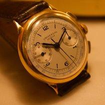 Universal Genève Vintage Chronograph 18k gold Uni-Compax...