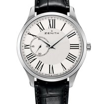 Zenith Elite Ultra Thin Steel 40mm White