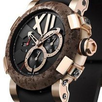 Romain Jerome Roséguld 50mm Automatisk CH.T.OXY3.2222.00.BB begagnad