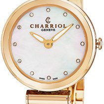 Charriol Rose gold Quartz Mother of pearl new