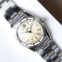Rolex Bubble Back Staal 32mm Nederland, Maastricht