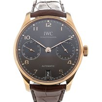 IWC Portuguese Automatic Rose gold 42.3mm Grey