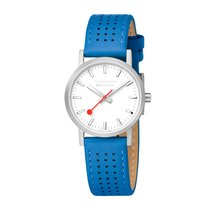 Mondaine Steel 30mm Quartz A658.30323.16SBD MONDAINE SBB Bianco Blu 30mm new