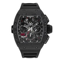 理查德•米勒 Automatic Flyback Chronograph Dual Time Zone Jet Black...