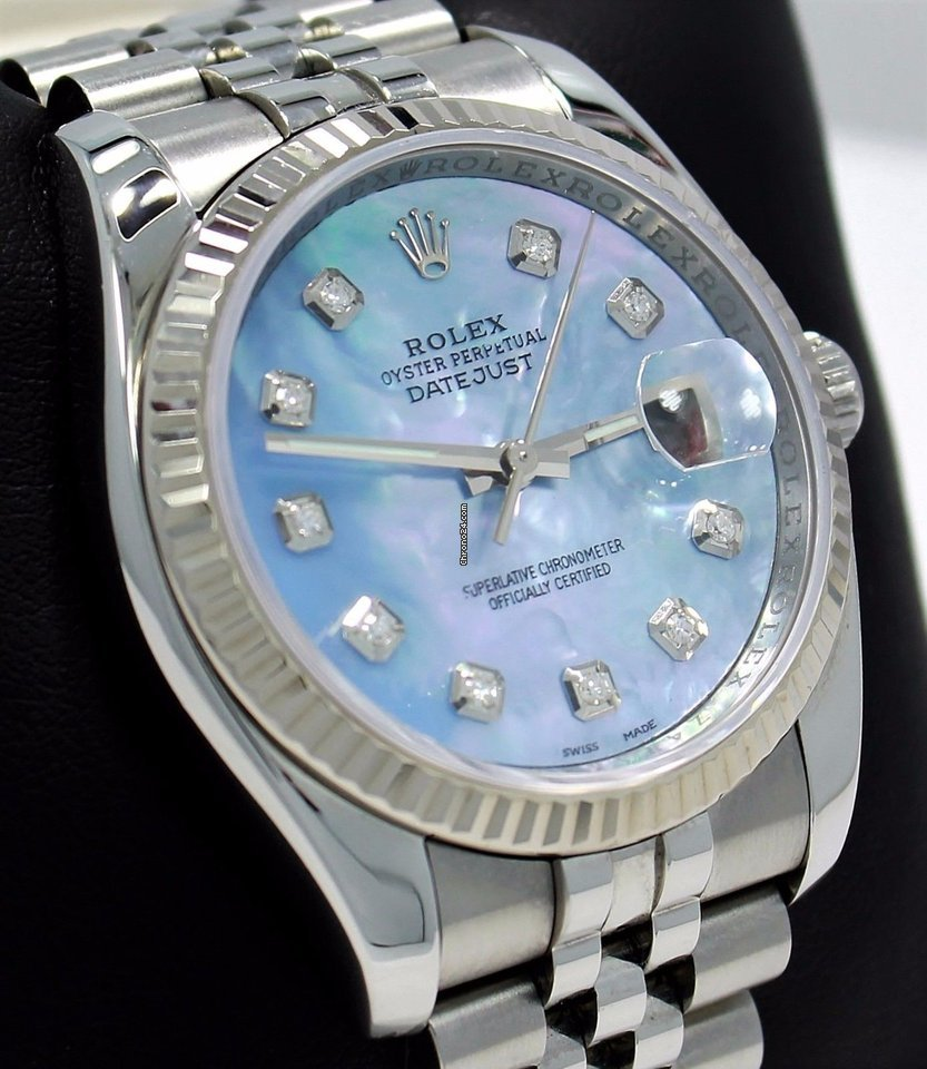 Rolex Datejust 116234 подержанные