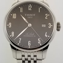 Tissot Le Locle Steel 39.3mm Black Arabic numerals United States of America, Alabama, Oranjestad