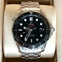 Omega Seamaster Diver 300 M Steel 41mm Black No numerals United States of America, Pennsylvania, Lancaster