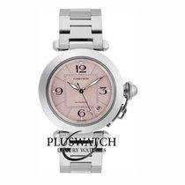 Cartier Pasha C new 2019 Quartz Watch with original box and original papers W31075M7