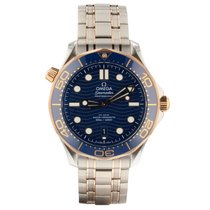Omega Seamaster Diver 300 M new Automatic Watch with original box and original papers 210.20.42.20.03.002