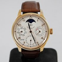 IWC Portuguese Perpetual Calendar IW502306 Very good Rose gold 44mm Automatic