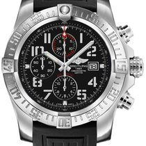 Breitling Super Avenger II new Automatic Chronograph Watch with original box A1337111-BC28-154S
