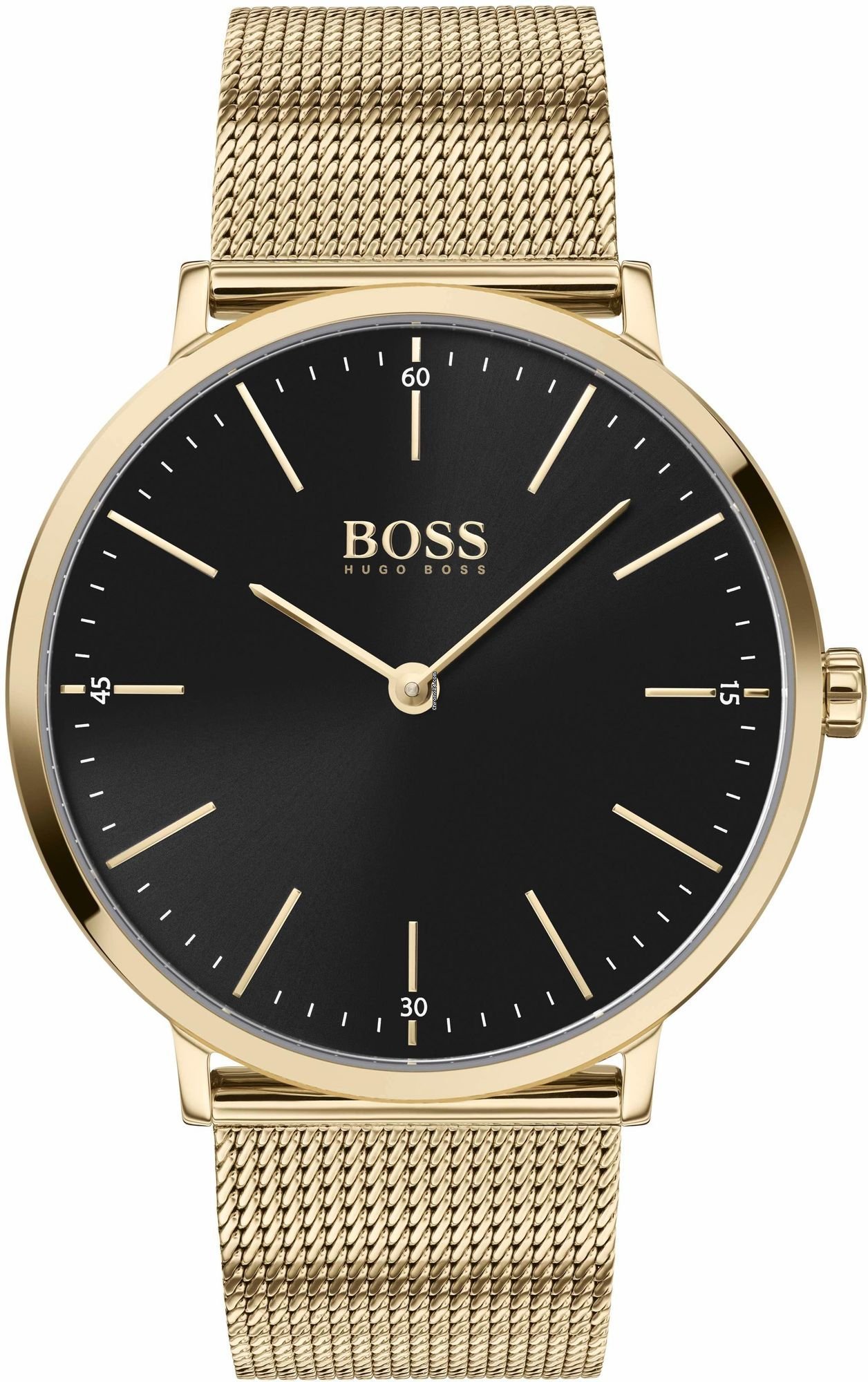 official photos new arrive new cheap Hugo Boss HORIZON 1513735 Herrenarmbanduhr