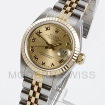 Rolex Lady-Datejust Otel 26mm Auriu Roman