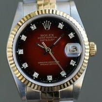 Rolex Lady-Datejust Gold/Stahl 31mm Rot Deutschland, Düsseldorf