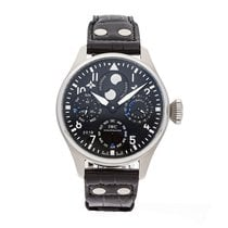 IWC Big Pilot Steel 46.2mm Black Arabic numerals United States of America, Pennsylvania, Bala Cynwyd