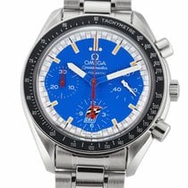 Omega Speedmaster Reduced Steel 39mm Blue United States of America, New York, New York