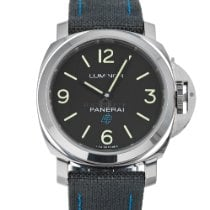 Panerai Luminor Base Logo Acero 44mm Negro Árabes