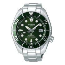 Seiko Prospex Сталь 45mm Зелёный Без цифр