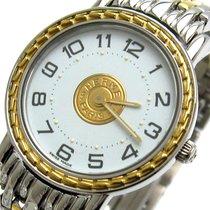 에르메스 금/스틸 24mm 쿼츠 SE4.220 중고시계