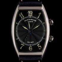 Franck Muller 18k W/G Black Guilloche Dial Big Ben Alarm...