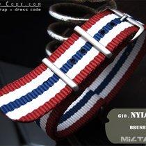 MiLTAT Thick 21mm Red White Blue NATO Band B