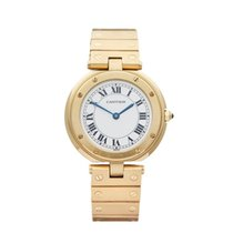 Cartier Santos Vendome 18k Yellow Gold Ladies - W3315