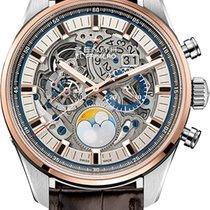 ゼニス (Zenith) Chronomaster El Primero Grande Date Full Open...