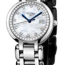 Longines New Ladies  Prima Luna L81100876 MOP Diamond Steel