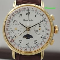 Lucien Rochat Chronograph 37mm Manual winding pre-owned White