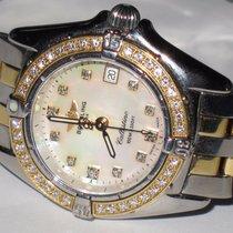 Breitling Chronomat Callistino MOP 18K Gold Diamonds