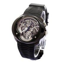 Franc Vila Single Button Chronograph Squelette Tourbillon PVD