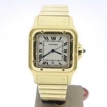 Cartier Santos 18KYellowGold 29mm Quartz (B&P2001) MINT Date